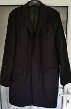 Mens French Connection Wool Blend Coat - Inky Black in Size UK 40