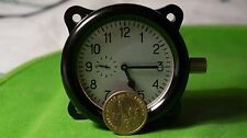 USSR Military Soviet AirForce Aircraft Cockpit Tank Clock ACHO
