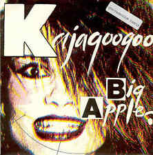 Kajagoogoo Big Apple UK Single 1983 PR-Sticker Limahl