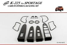 For Kia Sportage 2010 - 2014 Carbon Look Interior Styling Trim Set