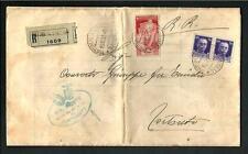 Italia Regno - Bimillenariuo nascita Augusto c. 20 su comunicazione/fattura 1937