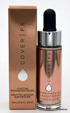 COVER FX Custom Enhancer Drops MOONLIGHT Full Size 0.5 oz 15mL BNIB