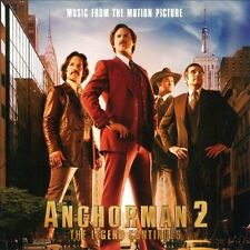 1 CENT CD Anchorman 2 The Legend Continues - SOUNDTRACK kenny loggins, argent