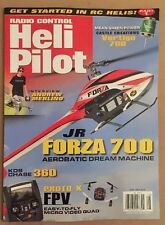 Radio Control Heli Pilot JR Forza 700 Andrew Merlino Apr/May 2015 FREE SHIPPING!