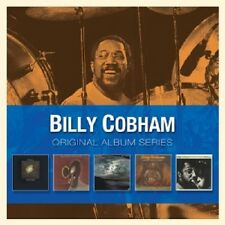 BILLY COBHAM - ORIGINAL ALBUM SERIES (CROSSWINDS/SPECTRUM/+)  5 CD NEU