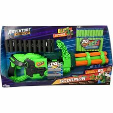 NEW Adventure Force Scorpion Motorized Automatic Gatling Gun Blaster