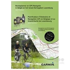 Garmin Routeplanner and GPS Nav.for Belgium and the G.D.of Luxemburg for Cycling
