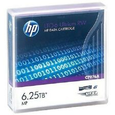 HP C7976A LTO6 ULTRIUM 2.5TB 6.25TB TAPES LTO-6 HPC7976A  20 PACK NEW