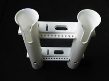 New white 2 link rod holder socket plastic PP materials suitable for boat