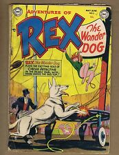 Adventures of Rex the Wonder Dog #3 (FRG) Golden Age DC 1952 (c#01287)