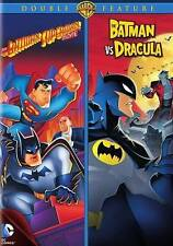 The Batman Superman Movie/The Batman vs. Dracula (DVD, 2015) Brand New