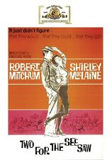 Two for the Seesaw 1962 (DVD) Robert Mitchum, Shirley MacLaine - New!