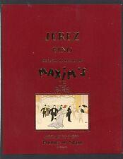 ETIQUETTE JEREZ SELECTION DU RESTAURANT MAXIM'S DE PARIS        §17/12/16§