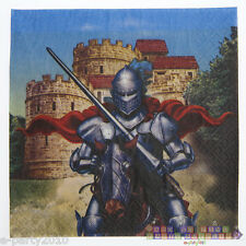 VALIANT KNIGHT LUNCH NAPKINS (16) ~ Fairy Tale Birthday Party Supplies Princess