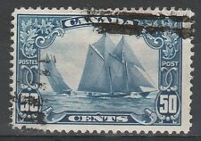 CANADA 1928 SHIP BLUENOSE 50C USED