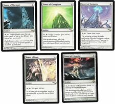 Magic the Gathering MTG**5x*Rare Tower Set*Mirrodin/SOM*SP/NM**FREE SHIPPING