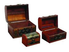 HORSE STORAGE BOXES WOODEN SET OF 3 EQUIN HORSES FITS INSIDE NOVELTY BRAND NEW