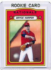 /5~LP~RC~2010 BRYCE HARPER_INC_ROOKIE CARD~10~MVP~ROY~ALL-STAR~AS~WASHINGTON~BH1