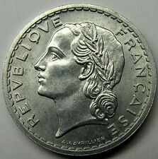 QUALITE - Très belle monnaie - 5 Francs Lavrillier - 1947 - Alu