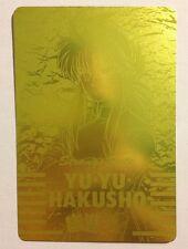 Yu Yu Hakusho PP Card Gold 133