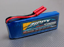 Zippy 5000mAh 3S 11.1V  20C 30C Lipo Battery Pack Flightmax HXT 4mm Bullet Plane