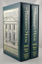 The Presidents House Vol I& II William Seale Historical Society 1st Edition 1st