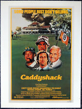 CADDYSHACK 1982 FILM MOVIE POSTER PAGE . CHEVY CHASE BILL MURRAY  . E52