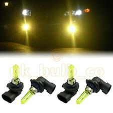 YELLOW XENON LOW + HIGH BEAM BULBS FOR Ford Puma MODELS HB3HB3