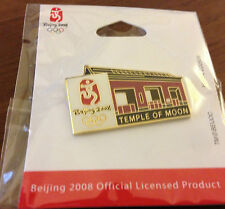 Beijing 2008 Temple of Moon Olympic Pin