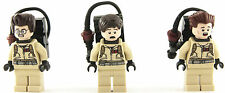 Lego Ideas 3x Ghostbusters Minifigures - Ray Peter + Egon - Split from set 21108