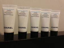 Lot of 5 Chanel Hydra Beauty Creme Sample 5ml/0.17oz each
