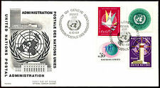 United Nations Geneva 1969 Definitives FDC First Day Cover #C36043