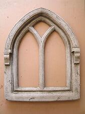 Gothisches Fenster Steinguss Garten Ruine gothic Betonguss Kloster Kirche