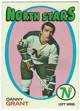 1971-72 TOPPS HOCKEY #79 DANNY GRANT - EXCELLENT-