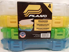 Plano 4 Color Storage Oraganizer Plastic Stowaway Adjustable compartment tackle