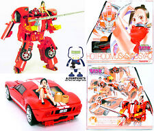 Transformers Kiss reproductor Hot Rodimus (Rojo Ford GT) alias Hodrod MIB