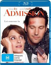 ADMISSION Blu-Ray DISC