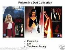 POISON IVY TRILOGY MOVIES FILM COLLECTION PART 1 2 3 New Sealed UK Release R2