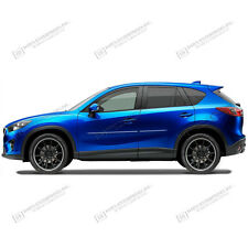 For:MAZDA CX5; PAINTED Body Side Moulding Moldings With CHROME Insert 2013-2016