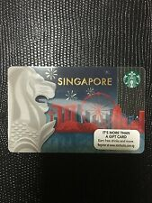 Starbucks Singapore Merlion Card