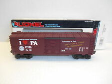 Lionel #19906 TCA I Love PA Presidential Committee Overstamp Box Car!