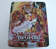 Yu-Gi-Oh Brotherhood Of The Fire Fist Tiger King  2014 Empty Tin
