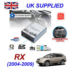 Lexus RX 2004-09 MP3 SD USB CD AUX Input Audio Adapter Digital CD Changer Module