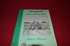 Massey Ferguson No. 141 Cotton & Corn Cultivator Owners Operator's Manual AMIL4