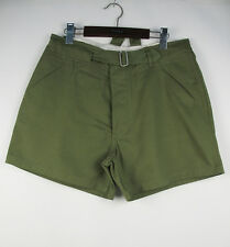 WWII German Afrika Corps D.A.K Olive-brown Shorts S (32)