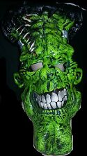 "ADULT ONE SIZE FRANKENSTEIN ""BIG FRANK"" HALLOWEEN COSTUME CHARACTER GREEN MASK"