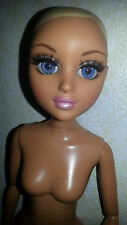 "MGA Moxie Teenz Doll 14"" BJD Melrose Nude Rooted Lashes Blonde Blue Eyes"