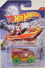 HOTWHEELS 1/5 HOLIDAY HOT RODS X'MAS MONSTER DAIRY DELIVERY HAPPY HOLIDAYS RARE