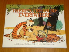 THERE'S TREASURE EVERYWHERE BILL WATTERSON ANDREWS MCMEEL  9780836213126