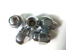 Kia / Hyundai  OEM  Chrome Wheel   Lug NUTS  5 pieces  , 52950-14140